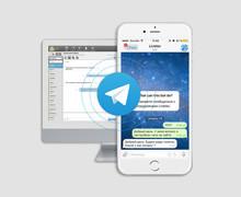 Telegram для техподдержки и продаж: работайте с сообщениями из мессенджера в Приложении оператора LiveTex